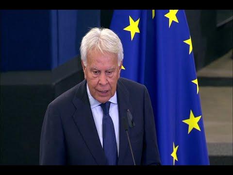 González destaca papel de Kohl en la construcción europea