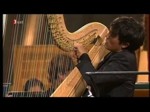 Concert for harp Opus 74, Andante Reinhold Gliere Emmanuel Ceysson