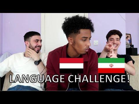 THE LANGUAGE CHALLENGE (Arabic vs Farsi)