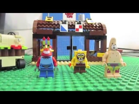 Lego Spongebob Krusty Krab Adventures Youtube