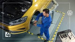 Oferta 4+: Calitate maximă la prețuri atractive la service-ul tău Volkswagen