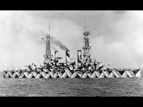 22 HISTORICAL PHOTOGRAPHS OF UNBELIEVABLY DAZZLE CAMOUFLAGE SHIPS