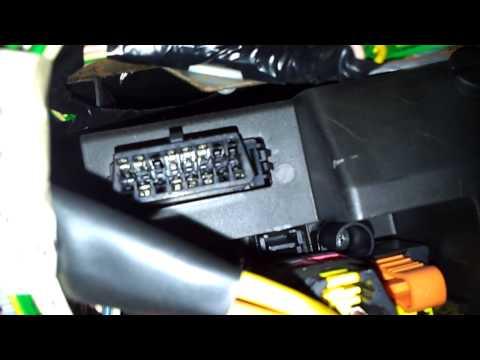 citroen c5 2 2008 2013 diagnostic obd port connector socket location obd2 dlc data funnydog tv. Black Bedroom Furniture Sets. Home Design Ideas