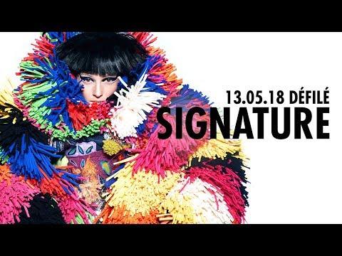 Défilé Signature 2018 Fashion Show (13 mai 2018)