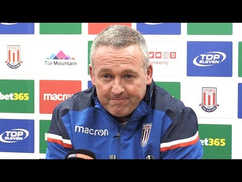 Paul Lambert's First Full Press Conference After Becoming Stoke Manager
