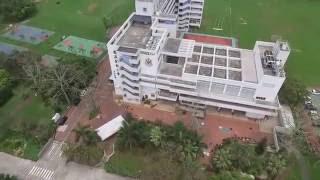 航拍 鳳溪學校