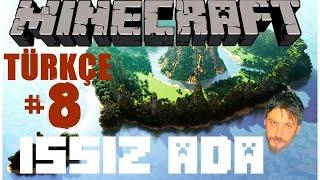 Minecraft Türkçe Survival   Issız Ada Haritası   Bölüm 8 Video
