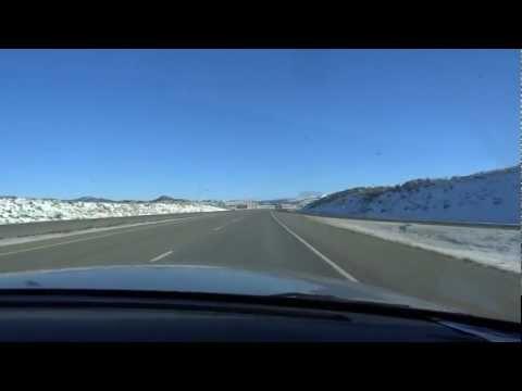 Utah Idaho Montana Interstate 15 I I15 Monida Pass Pipe Organ Bridge Snow Elk Mountains