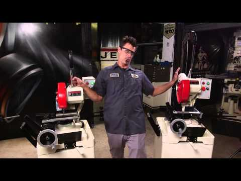 JET Cold Saws: demo by Bryan Fuller