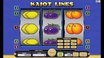 Kajot Lines automat zdarma