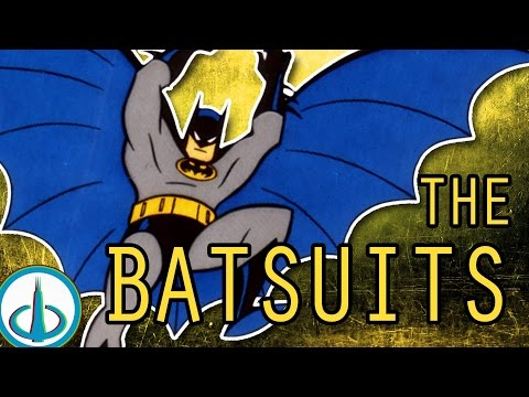 THE BATSUITS | History of the DCAU
