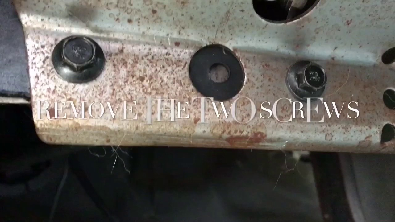2002 Ford F-150 Gear Shift indicator bracket replacement