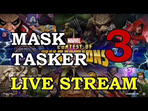 Taskmaster Arena - Round 2 - Part 3 | Marvel Contest of Champions Live Stream