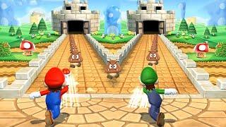 Mario Party 9 Minigames - Mario vs Luigi vs Yoshi vs Birdo