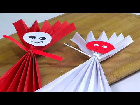 How to Make Iris Paper Dolls- HogarTv by Juan Gonzalo Angel