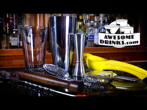 Essential Bar Tools For Beginner Cocktail Enthusiasts | Lesson 01