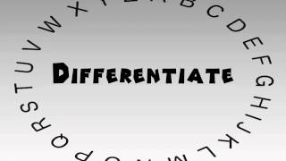 How to Say or Pronounce Differentiate