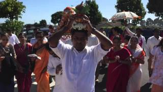 1st Shirdi Sai Baba Birthday Palki Procession In South San Francisco.  Oct 3rd...2015