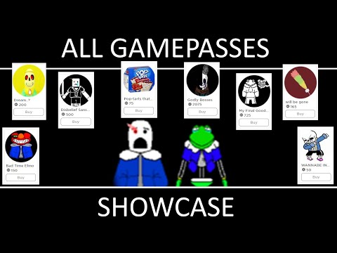 """All Character Gamepasses Showcase! (exept"""" Will Be Gone"""") 