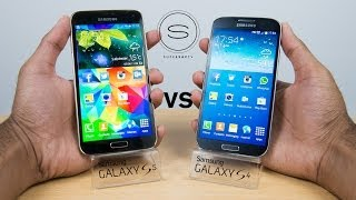 Samsung Galaxy S5 vs Samsung Galaxy S4 - Full Comparison