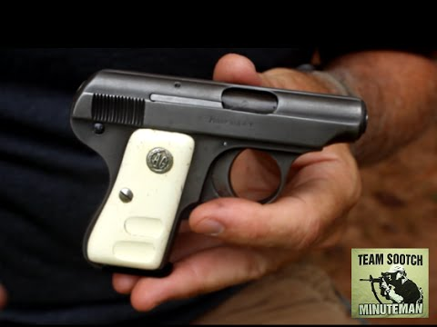 Armi Galesi 25acp Mouse Gun Review