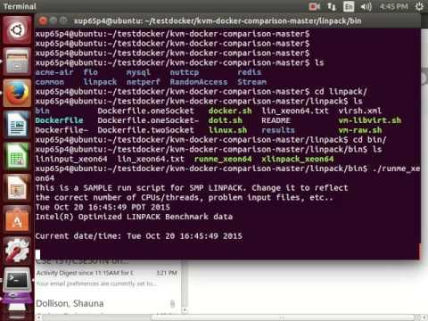 linpack ubuntu