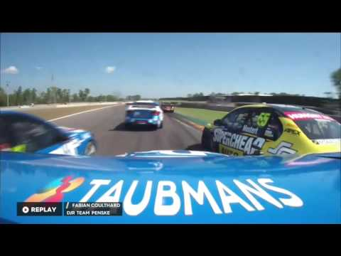 Lee Holdsworth crashes at the 2016 CrownBet Darwin Triple Crown - YouTube