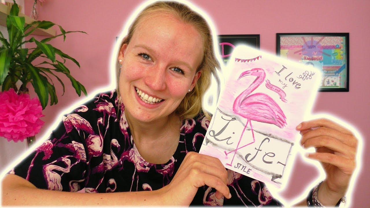 Diy Inspiration Challenge 127 Flamingo Malen Anleitung