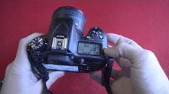 How to enable exposure bracketing on Nikon D7200