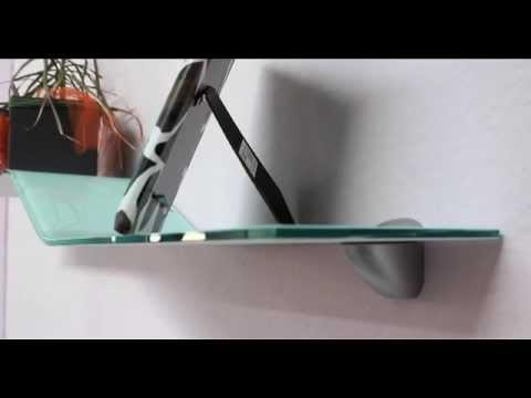 mensola in vetro curvato bianche youtube