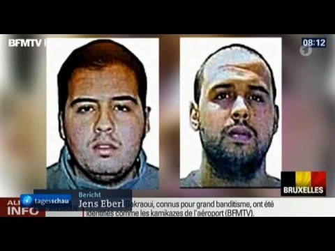 Brussels Attentat / Wednesday Morning News Bulletins - France 2 / ARD