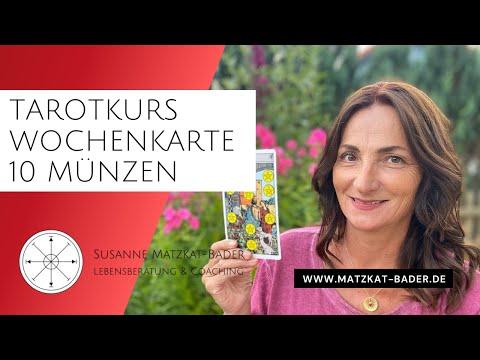Rider Waite Tarotkarte 10 Münzen Kurze Erklärung Youtube