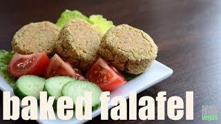 Baked Falafel Patties (vegan & Gluten-free) Something Vegan