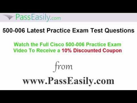500-006 Cisco Exam 500-006 Test Questions PDF