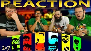 Young Justice 2x7 Reaction Depths