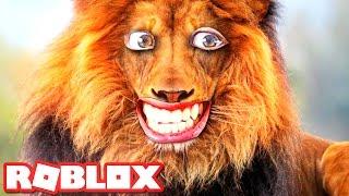 rawr i am a lion in roblox
