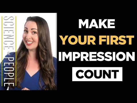 Make Your First Impressions Count