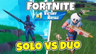 NEW SNOWMAN-SKIN IN FORTNITE | SOLO vs DUO WITH SHOTGUN | TILTED TOWERS IS MY