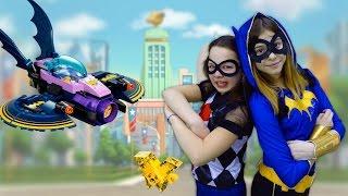 ЛЕГО игры:  Харли Квинн & БэтГерл  Лего мультик 🎥 #ЛучшиеПодружки в школе супергероев.