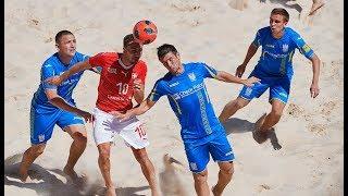 Пляжний футбол. Євроліга-2018. Україна 5:4 Швейцарія, репортаж з Баку