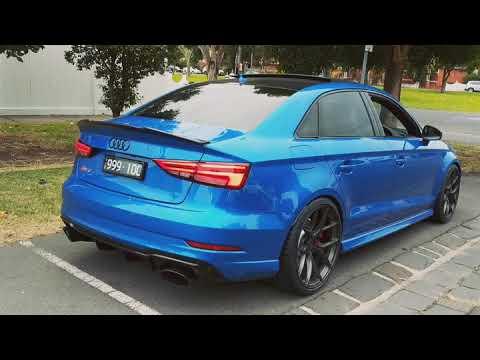 Audi RS3 Resonator delete - YouTube