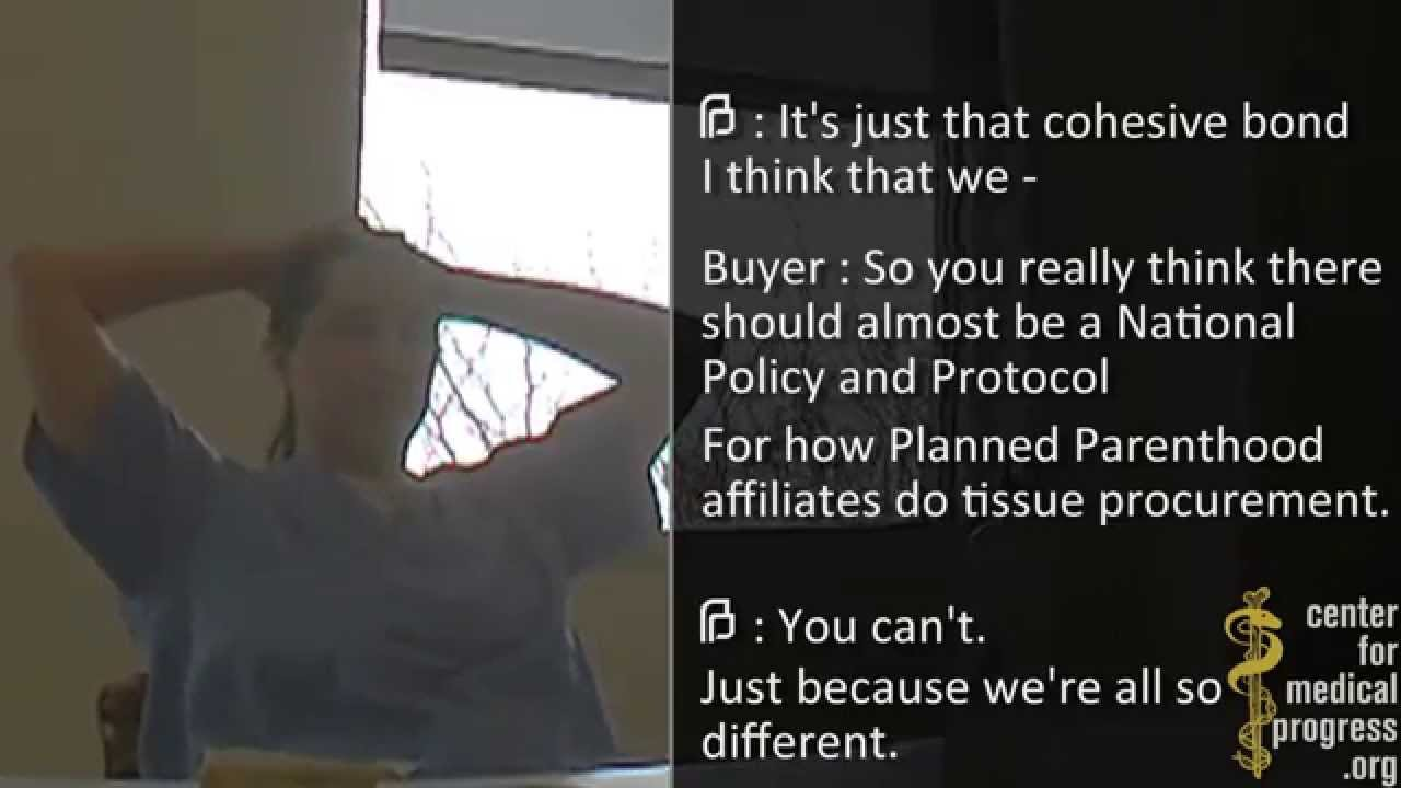 Planned Parenthood VP Says Fetuses May Come Out Intact, Agrees Payments Specific to the Specimen