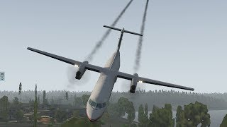 Plane Stolen By Suicidal Employee Crashes After Unauthorized Takeoff At Seattle Airport [XP11]