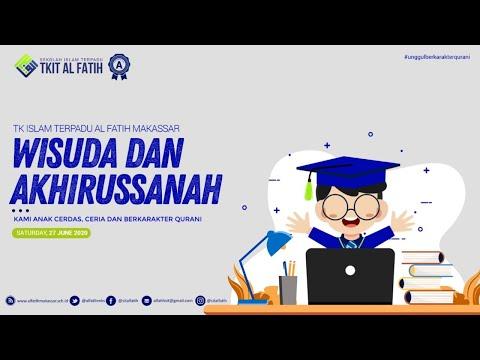 Virtual Graduation dan Akhirussanah Ang. III TK IT Al Fatih Makassar