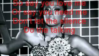 Alexandra Burke The Silence Lyrics