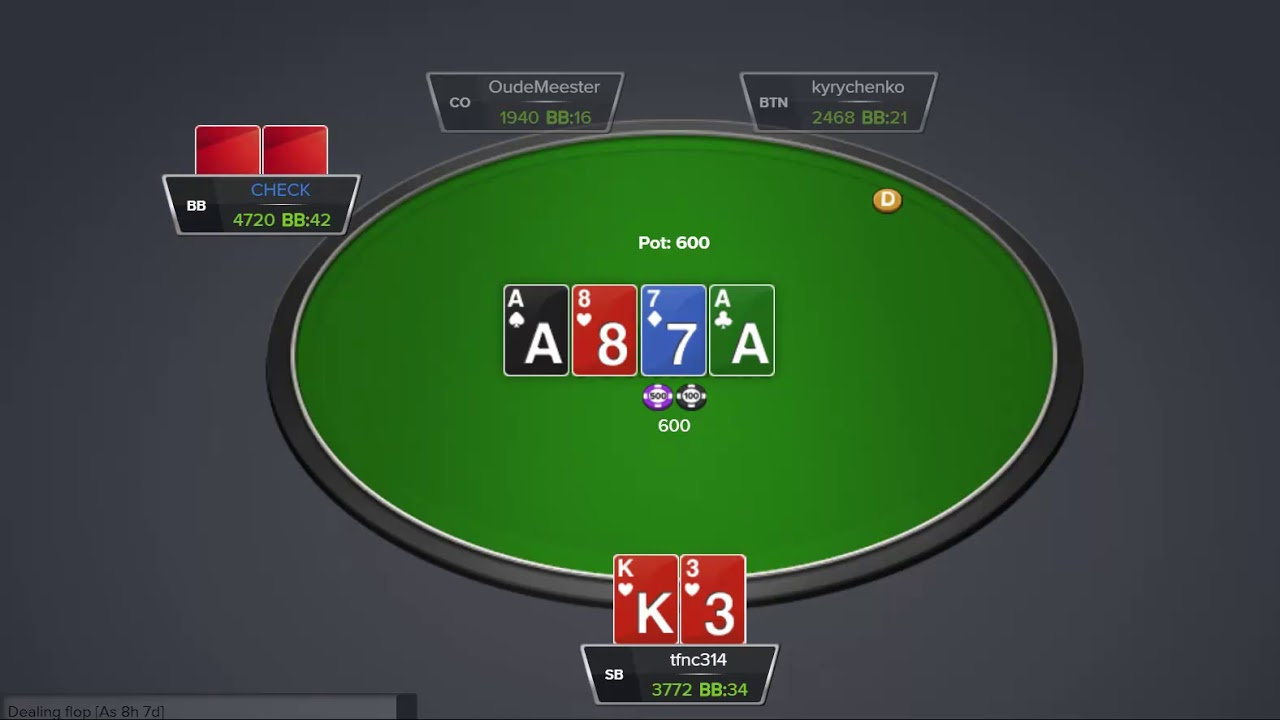 Become A Winning Online Poker Player In 30 Days Small Blinds Day 19 Youtube