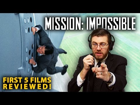 MISSION: IMPOSSIBLE Franchise - All 5 Movies Reviewed!