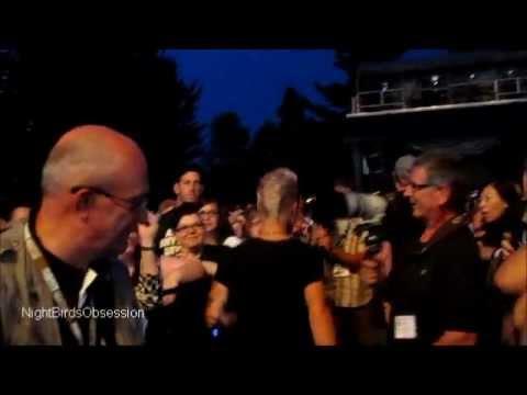 Sauli Koskinen Walking to Sound Booth at Adam Lamberts Concert - Ste Agathe Des Monts 07.29.2011