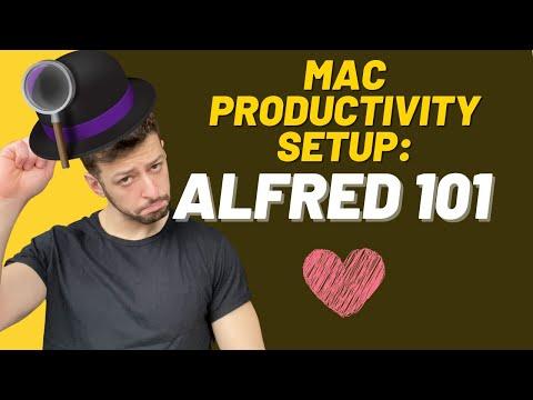 2: Maximising Your Mac Productivity: Alfred 🎩️
