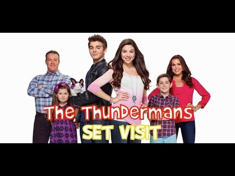 On Set of Nickelodeon's